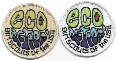 Eco Action 1970-1978 (later turned into official badge)