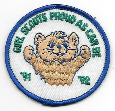 Girl Scouts Proud as Can Be