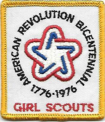 Bicentennial rectangle patch  1975-76
