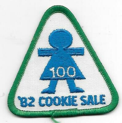 100 Patch 1982 Baker unknown