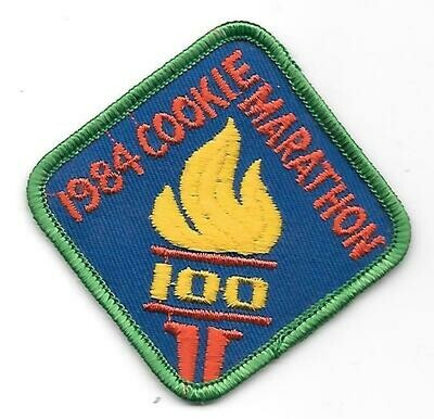 100 Patch 1984 Little Brownie Bakers