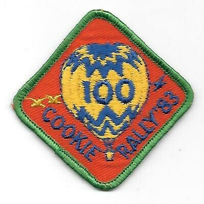 100 Patch 1983 Little Brownie Bakers