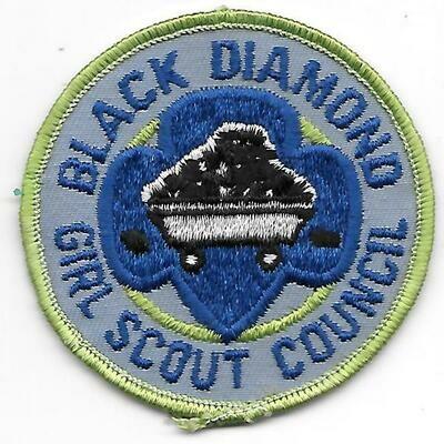 Black Diamond GSC council patch (West Virginia)