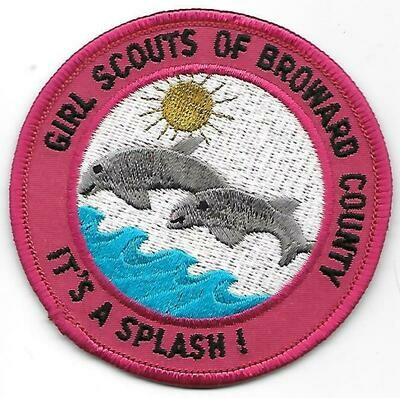 Broward County (Girl Scouts of)  council patch (Florida)