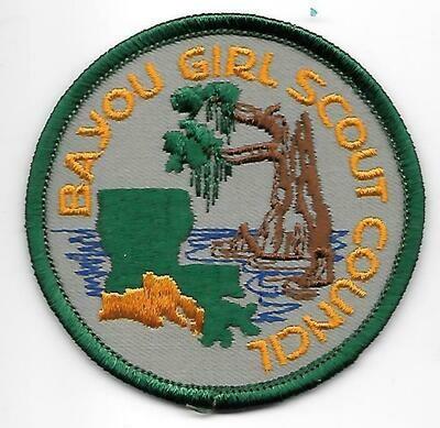 Bayou GSC  council patch (Louisiana)