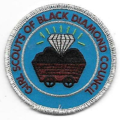 Black Diamond (GS of)  council patch (West Virginia)