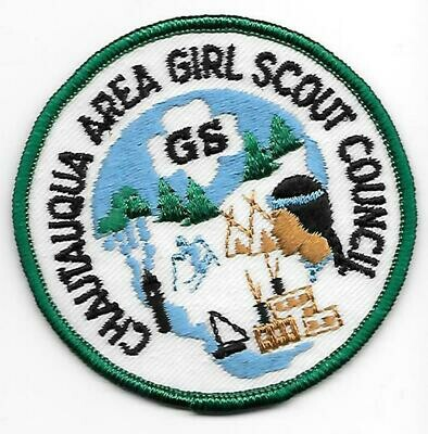 Chatauqua GSC council patch (New York)