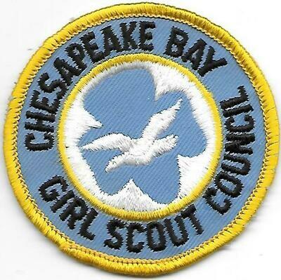 Chesapeake Bay GSC council patch (DE)