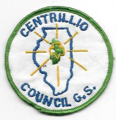 Centrillio Council GS council patch (Illinois)