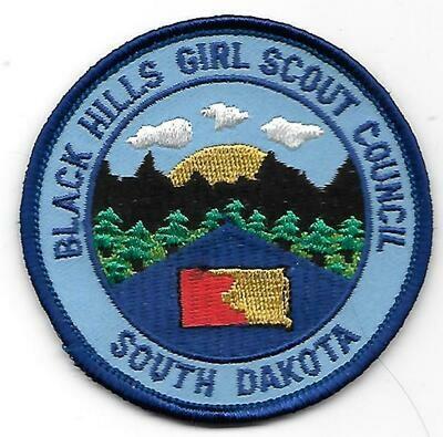 Black Hills GSC council patch (South Dakota)