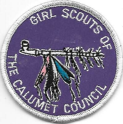 Calumet Council (Girl Scouts of the) council patch (Indiana)