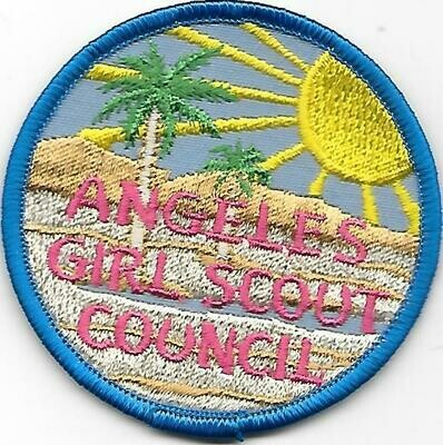 Angeles GSC council patch (California)