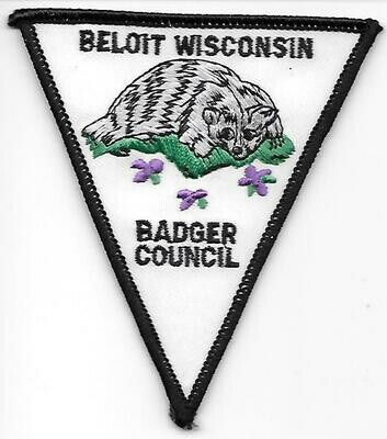 Badger Council council patch (Wisconsin)
