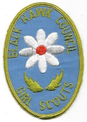 Black Hawk Council GS  council patch (Wisconsin)