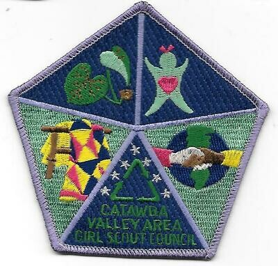 Catawba Valley Area GSC council patch (N Carolina)
