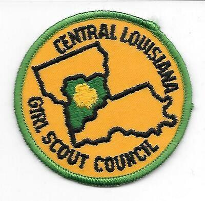 Central Louisiana GSC council patch (Louisiana)