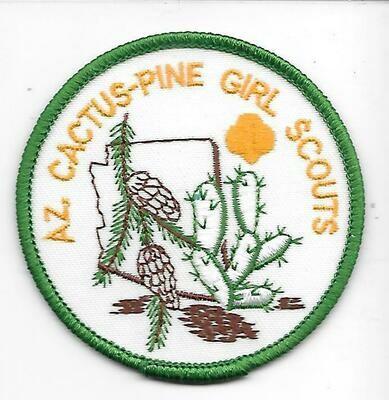 Az Cactus-Pine GS council patch (Arizona)