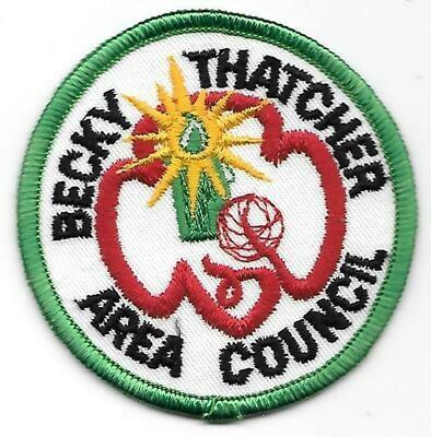 Becky Thatcher council patch (Missouri)
