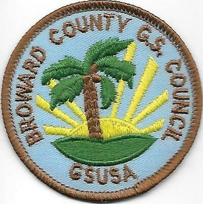 Broward County GSC council patch (Florida)