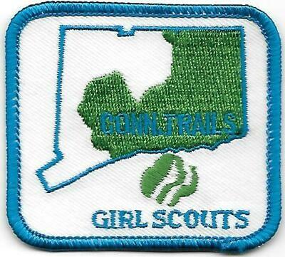 Conn. Trails GS council patch (CT)