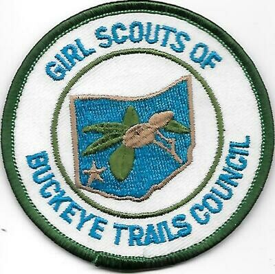 Buckeye Trails (Girls Scouts of)  council patch (Ohio)