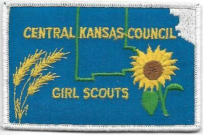 Central Kansas Council GS council patch (Kansas)
