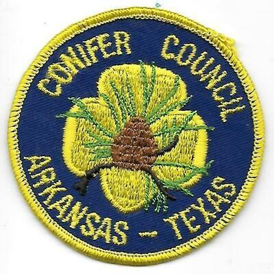 Conifer Council AR-TX council patch (Arkansas)
