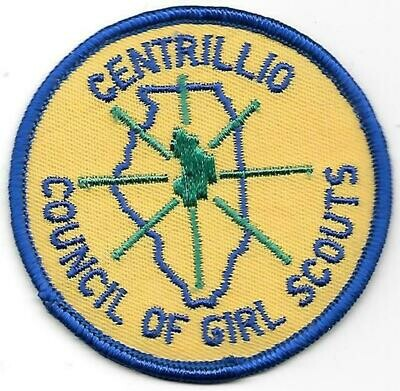 Centrillio Council of GS council patch (Illinois)