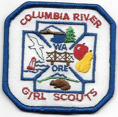 Columbia River GS council patch (Oregon)