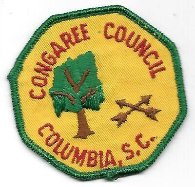 Congaree Council Columbia SC council patch (S Carolina)