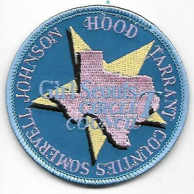 Circle T Council (GS) council patch (Texas)