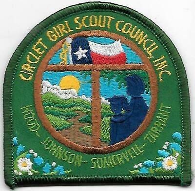 Circle T GSC Inc council patch (Texas)