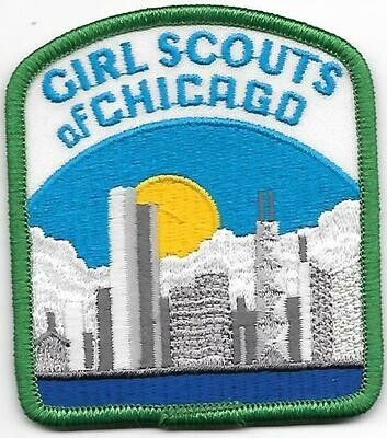Chicago (Girl Scouts of) council patch (Illinois)