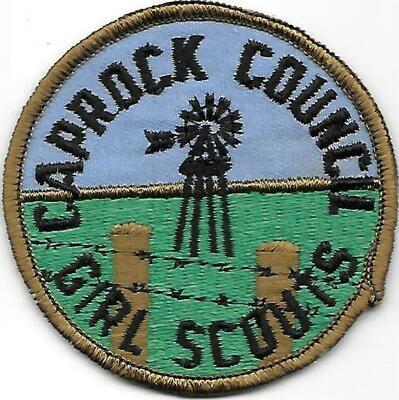 Caprock Council GS council patch (Texas)