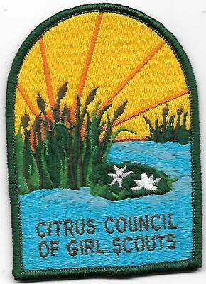 Citrus Council of GS council patch (Florida)
