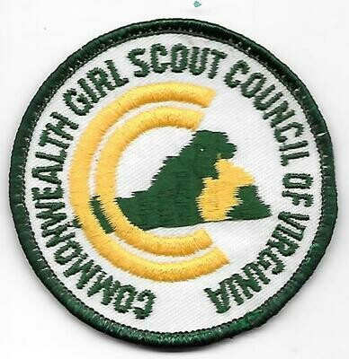 Commonwealth GSC of Virginia council patch (Va)