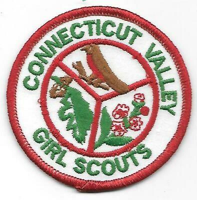 Connecticut Valley GS council patch (CT)