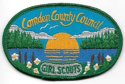 Camden County Council GS council patch (New York)