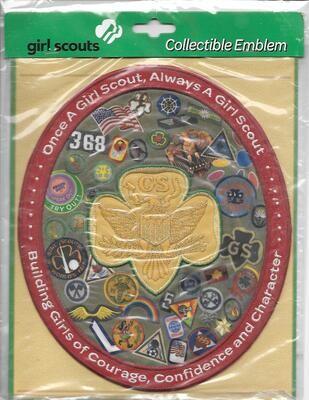 100th Anniversary Patch RARE GSUSA Commemorative (aka Big Bertha)