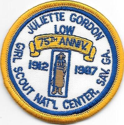 75th Anniversary Patch JGL Nat'l Center