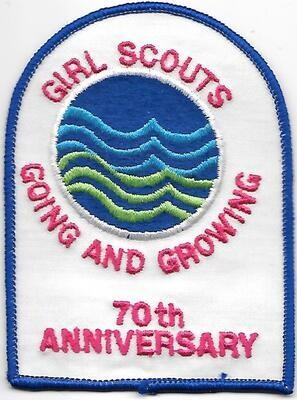 70th Anniversary Patch GSUSA