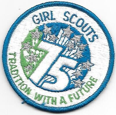 75th Anniversary Patch GSUSA (fully emboirdered)