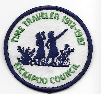 75th Anniversary Patch Kickapoo council In