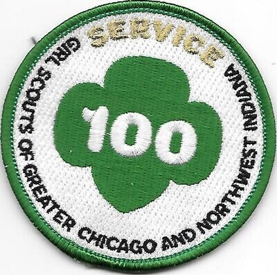 100th Anniversary Patch Greater Chicago