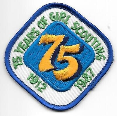 75th Anniversary Patch Generic