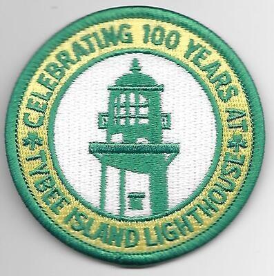 100th Anniversary Patch Tybee Island