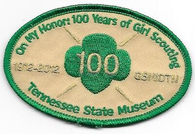 100th Anniversary Patch Tn State Museum