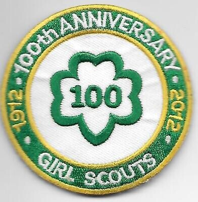 100th Anniversary Patch GSUSA