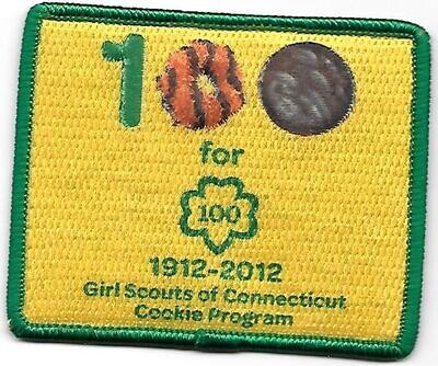 100th Anniversary Cookie Patch