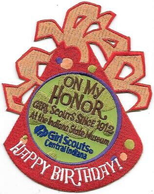 100th Anniversary Patch GS Central Indiana